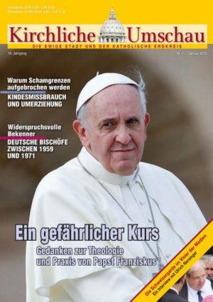 Cover der Kirchlichen Umschau Januar 2015