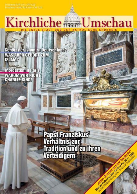 Cover der Kirchlichen Umschau Februar 2015
