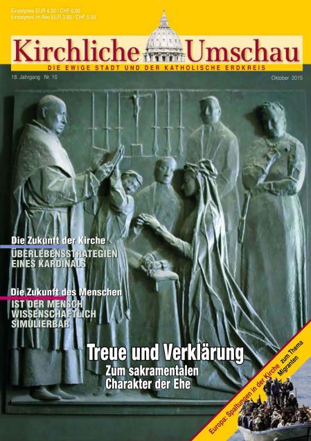Cover der Kirchlichen Umschau Oktober 2015