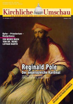 Cover der Kirchlichen Umschau Oktober 2016