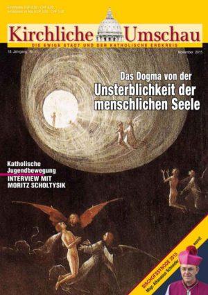 Cover der Kirchlichen Umschau November 2015