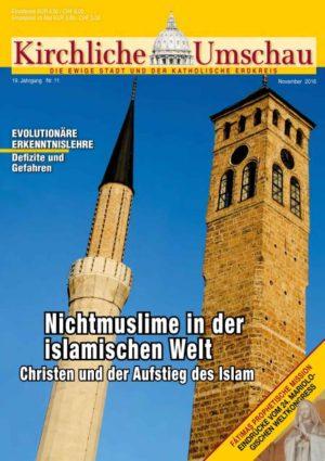 Cover der Kirchlichen Umschau November 2016