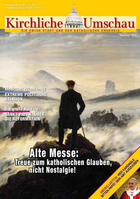 Cover der Kirchlichen Umschau Dezember 2016
