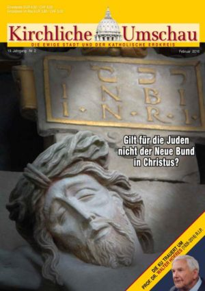 Cover der Kirchlichen Umschau Februar 2016