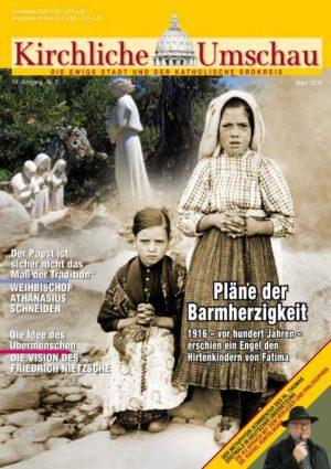 Cover der Kirchlichen Umschau März 2016