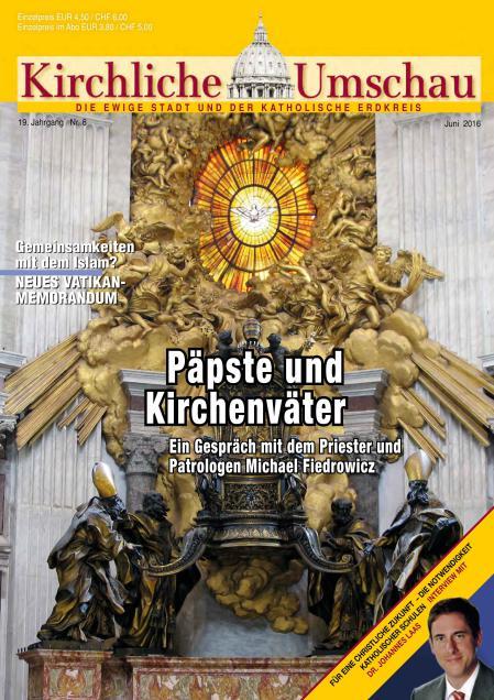 Cover der Kirchlichen Umschau Juni 2016
